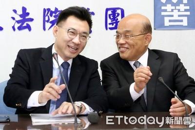 蘇貞昌拜會 藍委要求「促轉會全面改組」