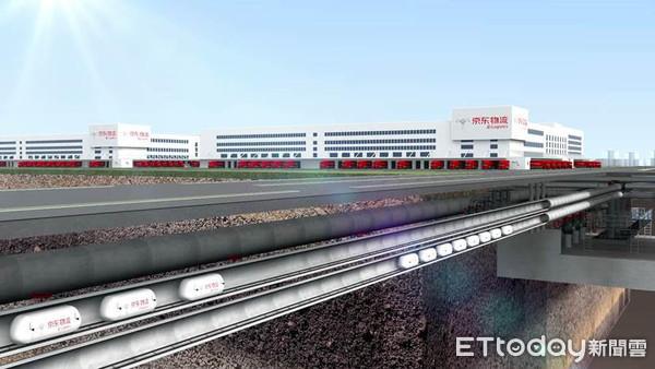 ▲京東集團計畫打造地下物流。(示意圖/京東提供)