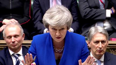 梅伊尋求脫歐解方 歐盟:延長時限得提正當理由