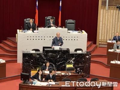 高雄市議會首次市政報告 韓國瑜強調「無私」