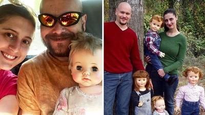 蒐集30尊「古董娃娃」不生小孩!雙薪夫妻:她們更可愛更聽話