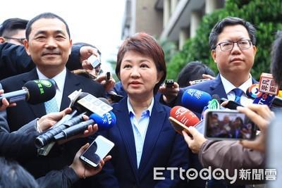 盧秀燕恭賀林佳龍擔任交通部長
