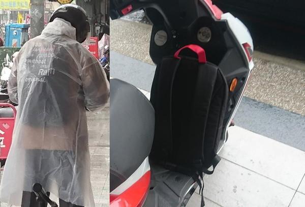 機車踏板出現「陌生黑背包」 他上班見詭異畫面:兩人根本一組。(圖/翻攝爆怨公社)
