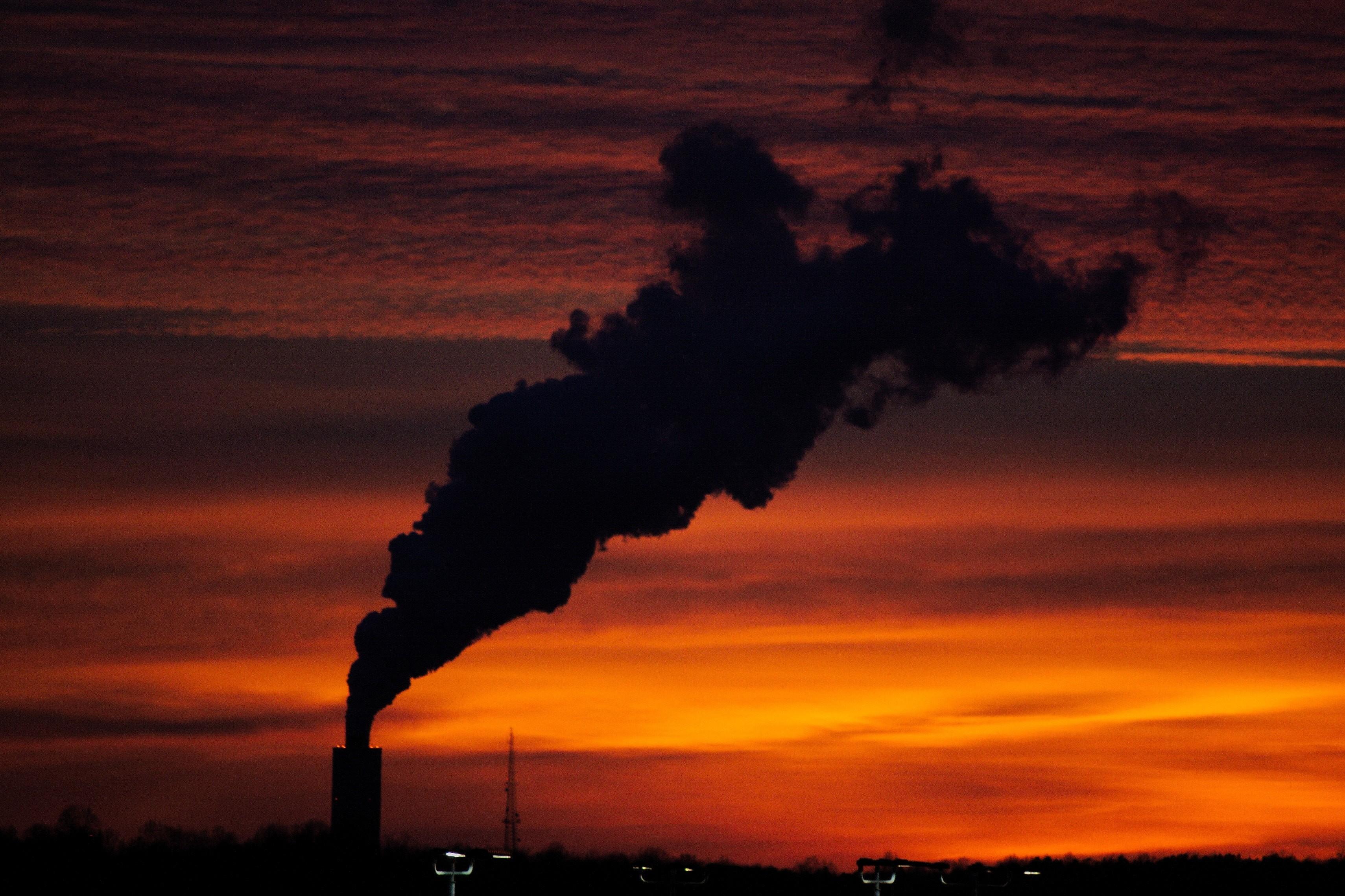 ▲▼溫室氣體,空氣汙染,地球暖化。(圖/取自免費圖庫Unsplash)