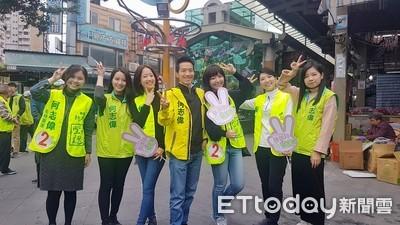 掃街找「美女牌」 何志偉:民進黨現在沒人敢說自己是大咖