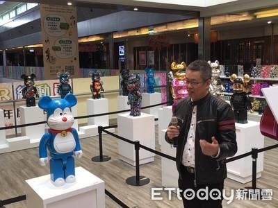 南紡購物中心 庫柏力克熊大展登場