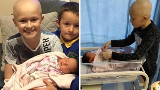 醫預言活不了幾天!癌末童「忍痛再撐四個月」直到妹妹出生才斷氣