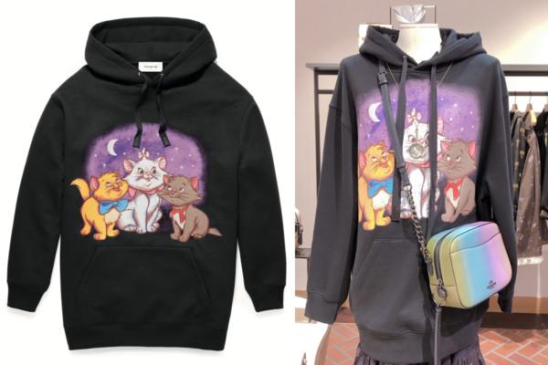 我想要玛莉猫帽T!COACH与迪士尼合作4次 角色大爆发