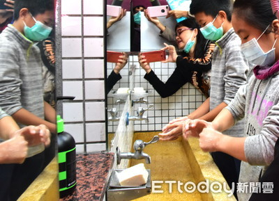 正確洗手 防蟯蟲、腸病毒、流感