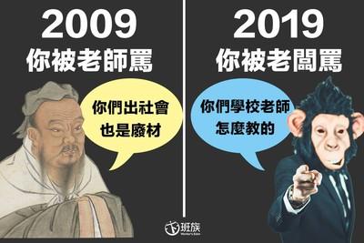 十年前和十年後,始終如一