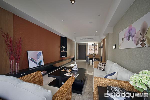 ▲建築坪數規劃主力38、40坪,戶戶衛浴開窗、預留玄關,坪效佳是最大特色。(圖/記者張瑞傑攝)