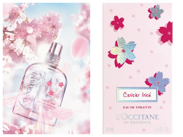欧舒丹推出虹彩樱花香水 柔美瓶身飘仙气