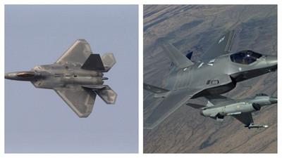 F-22 vs. F-35誰更有優勢?