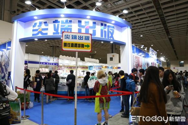 台北動漫節出版社業績成長三成 強檔新書、贈品全完售