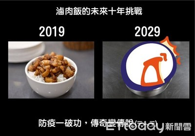 內政部跟風十年挑戰 「2029滷肉飯變這樣」