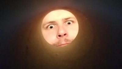 「一個紙捲」拍出人臉巨月!熱潮狂洗國外:你看我好亮