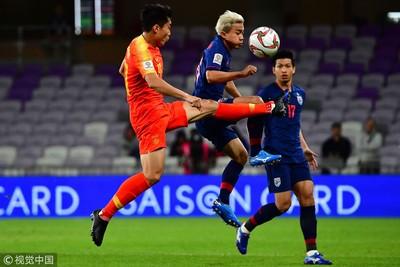 亞足賽大陸2比1退泰國挺進8強