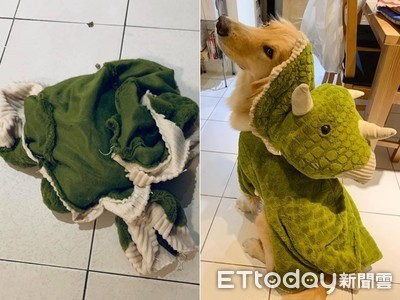 媽咪巧手 綠犀牛玩具→阿金帽T