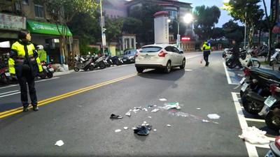 轉彎車撞死行人 疑車速過快釀禍