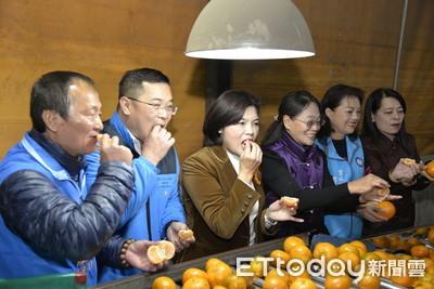 雲林農產處女航 4萬公斤茂谷柑銷大陸