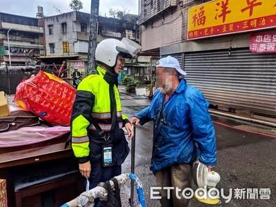 強冷氣團來襲 警察啟動防寒機制