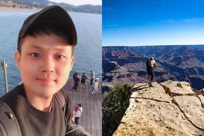 男大生留學歸國前夕摔落大峽谷昏迷