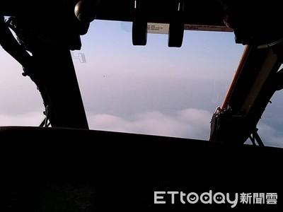 雲層厚阻G哥回家路 黑鷹3趟燒掉100萬