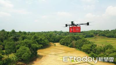 中國物流無人機印尼首飛