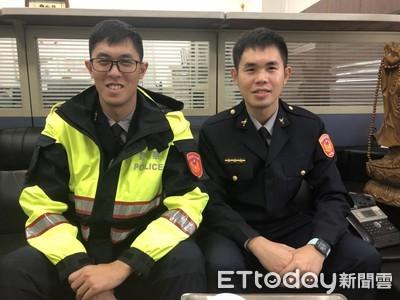 兄弟檔齊考進警界 淡水成同事