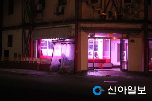 ▲▼南韓仁川紅燈區(圖/翻攝自신아일보)