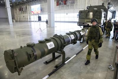 俄首次對外展示9M729導彈