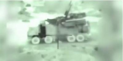 以色列F-16摧毀俄製鎧甲S-1防空系統