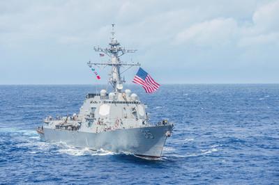 共軍擾台、美艦穿台海 國防部全程掌握