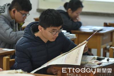 國寫「溫暖的心」 考生:台灣人讓座最暖