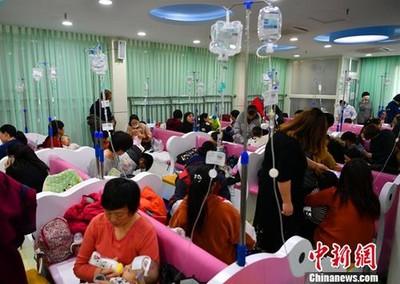 陸進入流感高峰期甲型H1N1佔82%