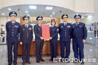 春節安全維護 義警訪瑞芳分局