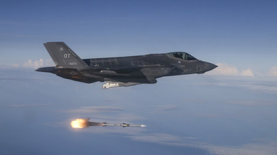美雷射武器測試成功擊落導彈 武裝第六代戰機