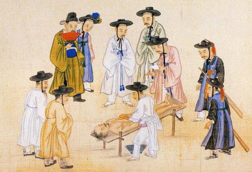 ▲▼《審理錄》朝鮮人勘驗屍體(圖/翻攝自The Dong-A Ilbo)