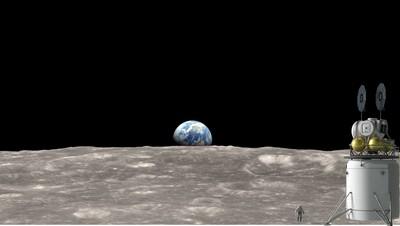 月球採集的岩石 來自40億年前的地球