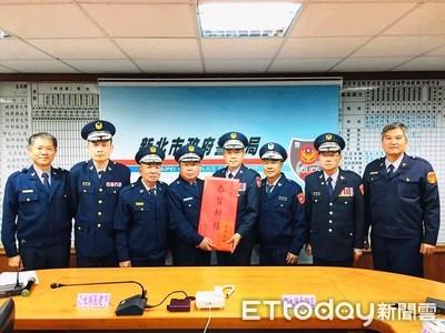 春節安全維護 義警訪蘆洲分局