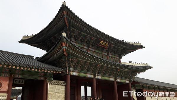 ▲▼首爾,韓國,南韓,景福宮,勤政殿(圖/記者羅翊宬攝)