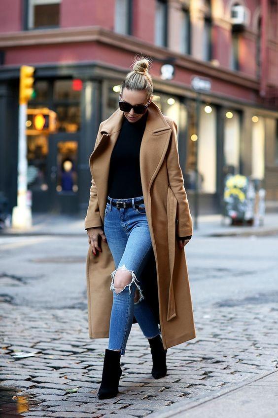 冬季值得投资的叁款长大衣!「抓毛绒」温暖减龄