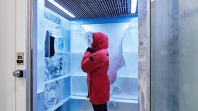 試衣間零下25度!「地表最暖羽絨衣」廠商自豪:保證進去還嫌熱