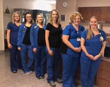 懷孕會傳染!6名護士同時成孕婦