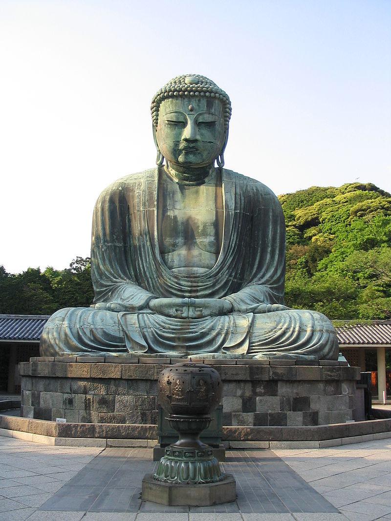 ▲鎌倉大佛。(圖/翻攝自維基百科)