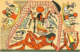 最糟糕的創造世界法! 古埃及神明擼一管....就射出天和地了
