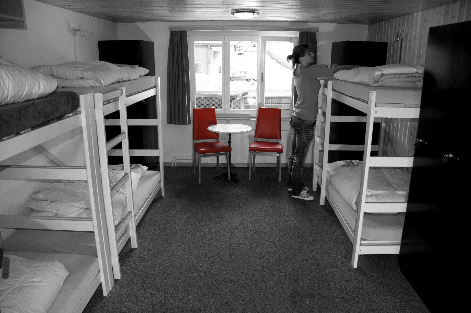 ▲宿舍。(圖/取自免費圖庫pixabay)