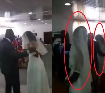 小三「穿白紗」現身婚禮 正牌新娘傻了
