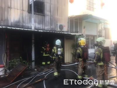 即/台南市新美街火警 1人送醫急救