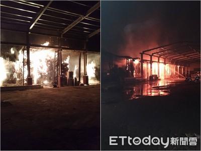 「造紙工廠」3個月2次燃燒 將開罰30萬